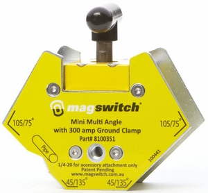 Magswitch Mini Multi-Angle Welding Magnet w/300 Amp Ground 8100351