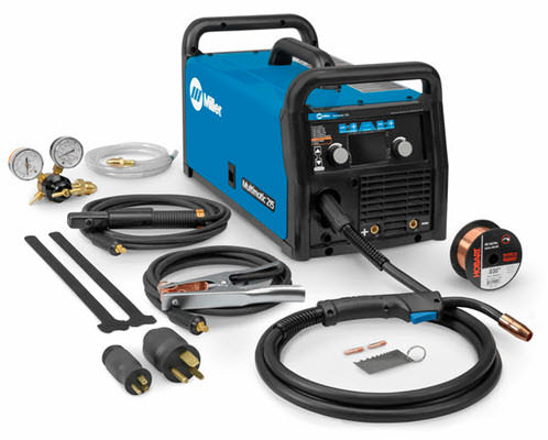 Multimatic 215 Multiprocess Welder 907693 on