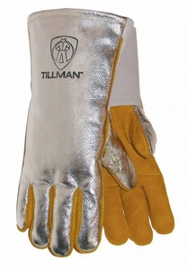 Tillman Welding Gloves - Aluminized Back High Heat Gloves 822