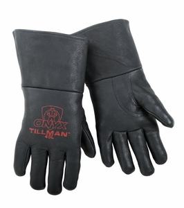Tillman Welding Gloves - ONYX Black Pigskin MIG Glove 45