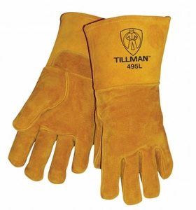 Tillman Welding Gloves - Top Grain Pigskin Stick Glove 495