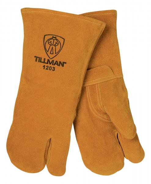 Tillman Welding Mitt - Bourbon Brown Cowhide 1203