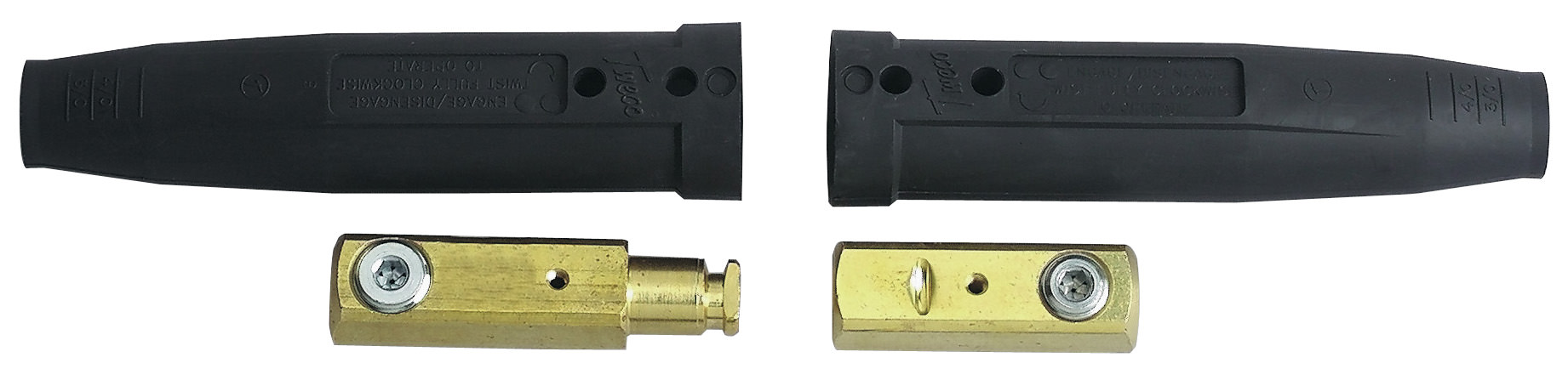 Tweco Weld Cable Connectors - MPC