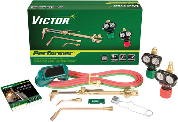 Victor Performer Welding, Heating & Cutting Outfit 0384-2045