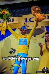 2014 Italian National Champion Vincenzo NIBALI is in Yellow after stage two