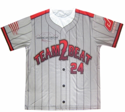 Baseball Jersey Sample (No Buttons)