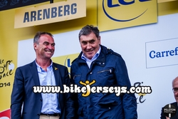 Eddy Mercks, Bernard Hinault, Tour de France, Stage 5