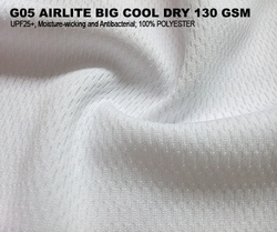 G05 AIRLITE BIG COOL DRY 130 GSM