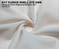 G17 FLEECE SHELL 275 GSM