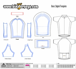 Templates for custom jerseys for Custom cycling jersey template