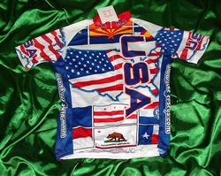 Team Crazy Flag USA  Sample