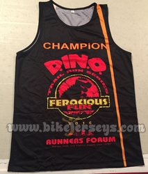 Team DINO Champions Running Singlets 2016 SAMPLE