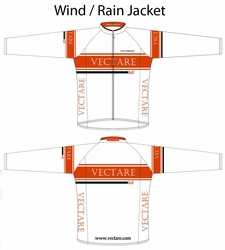 Team Vectare Wind Jacket Sample