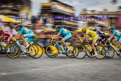 TOUR DE FRANCE 2015 - Photo on Metal