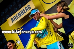 Vincenzo Nibali Stage 5 in Yellow Tour d' France 2014