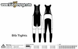 Winter Bib Tight Template