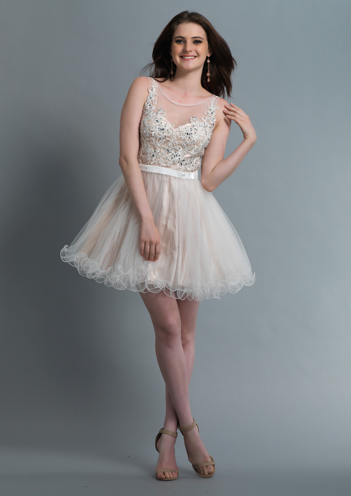 Dave and Johnny Prom Dress 1002