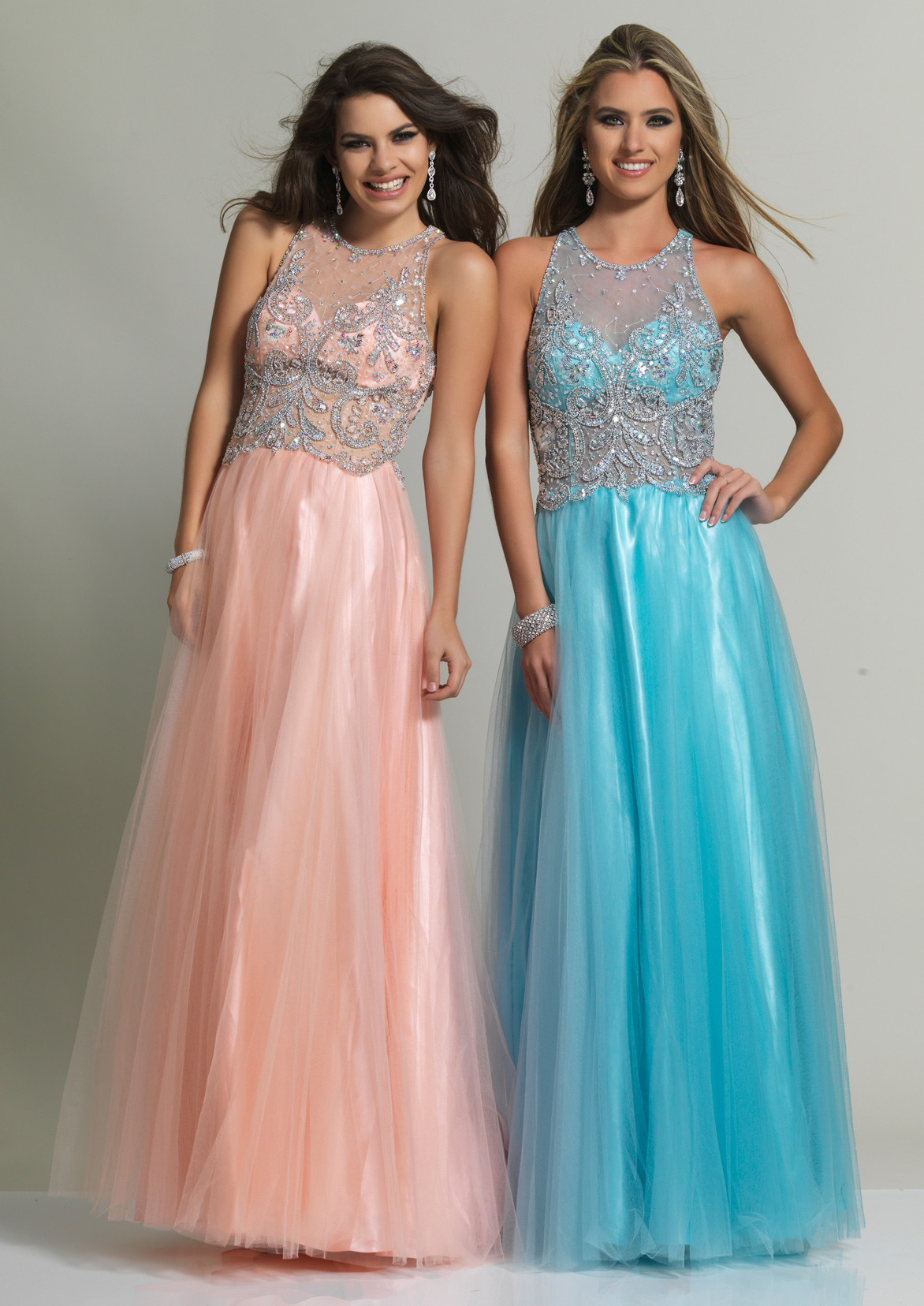 Dave and Johnny Prom Dress 10161