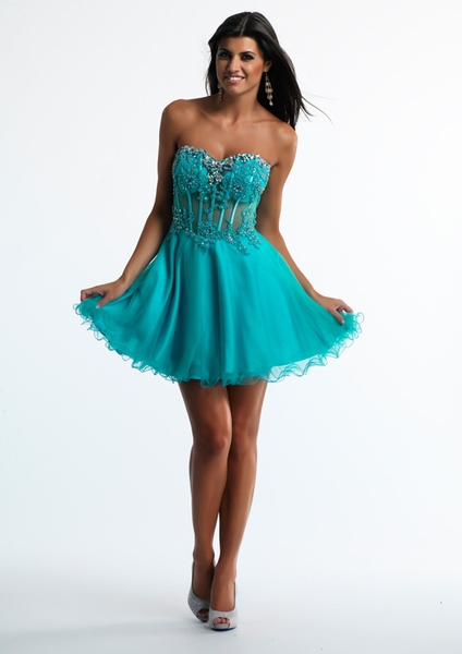 Dave and Johnny Prom Dress 10250