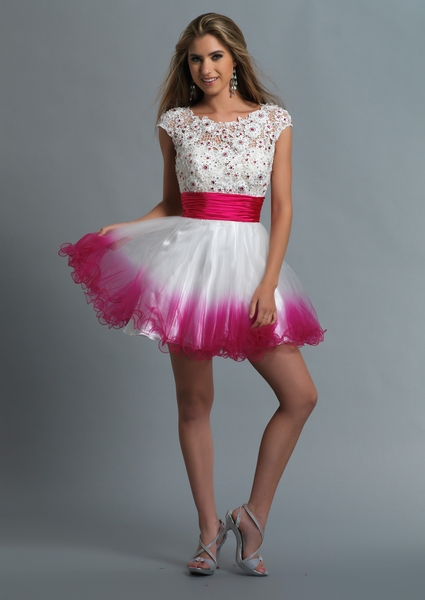 Dave and Johnny Prom Dress 10423