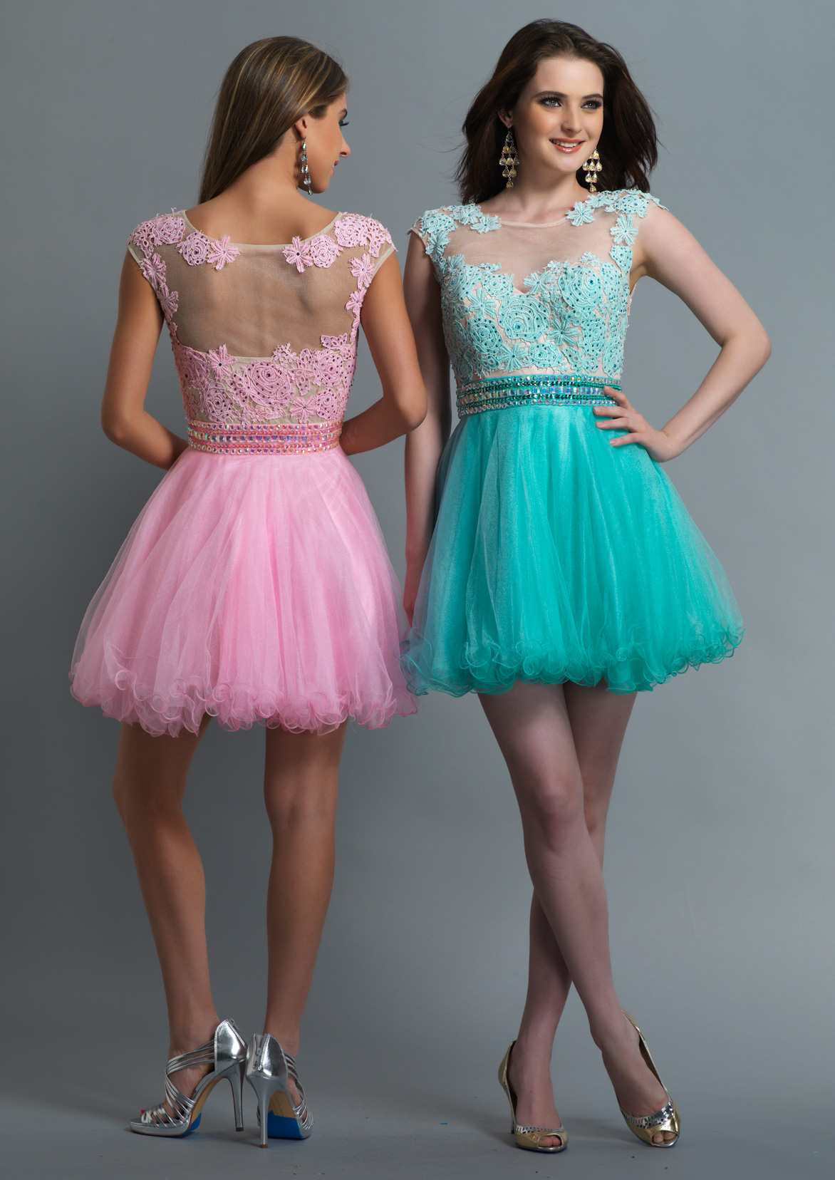 Dave and Johnny Prom Dress 10425