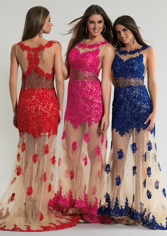 6826a59bbb9 Dave and Johnny Prom Dress 10589