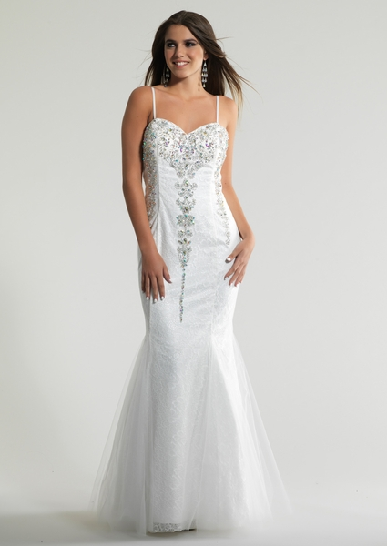 Dave and Johnny Prom Dress 10655