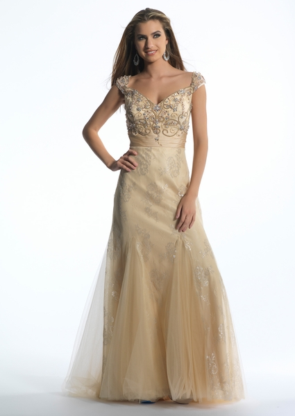 Dave and Johnny Prom Dress 1174