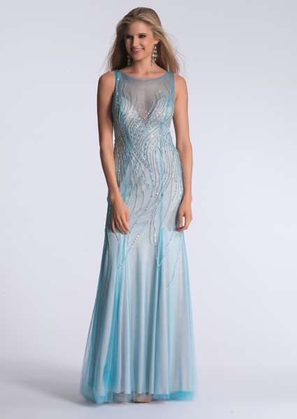 Dave and Johnny Prom Dress 1207
