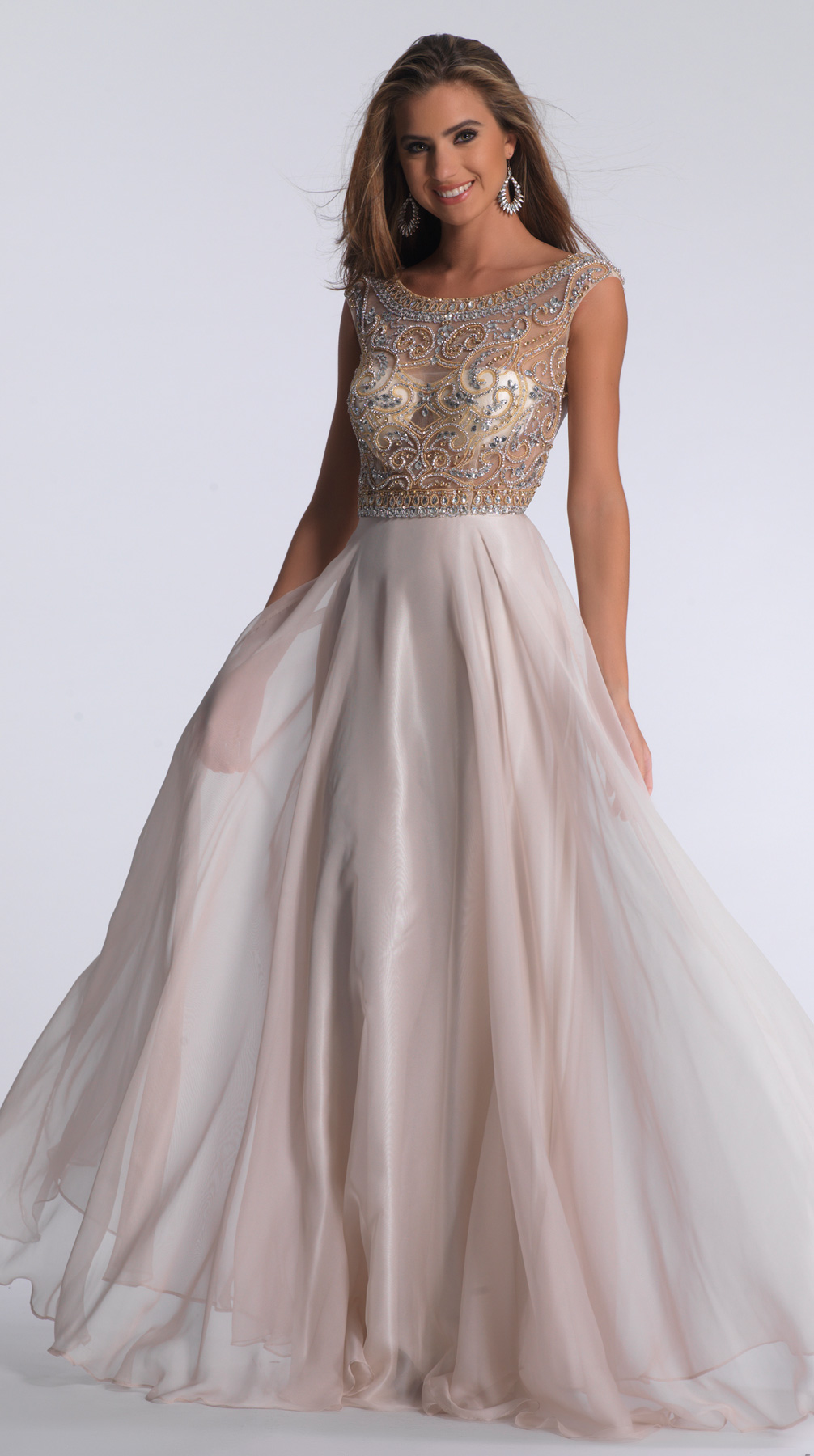 Dave and Johnny Prom Dress 1363W