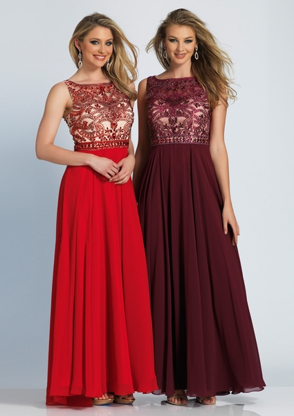 Dave and Johnny Prom Dress 1417