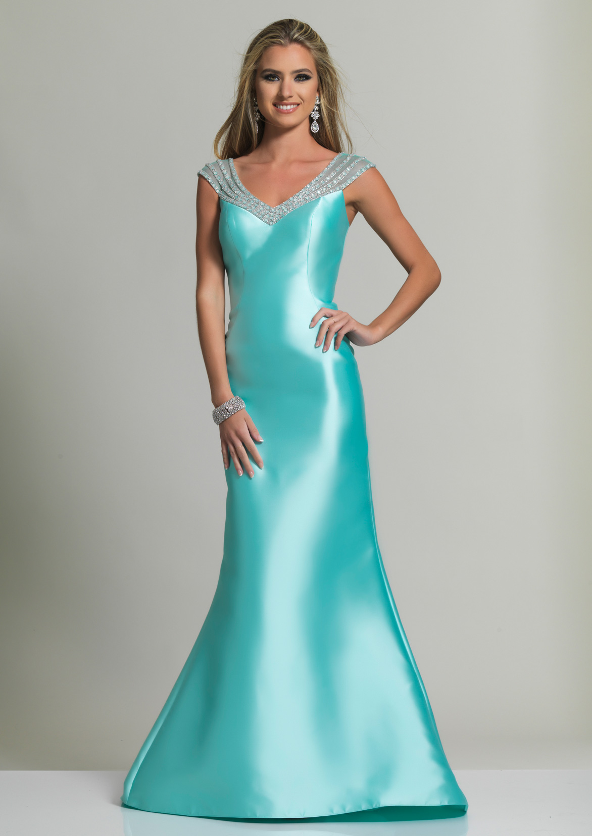 Dave and Johnny Prom Dress 2163M