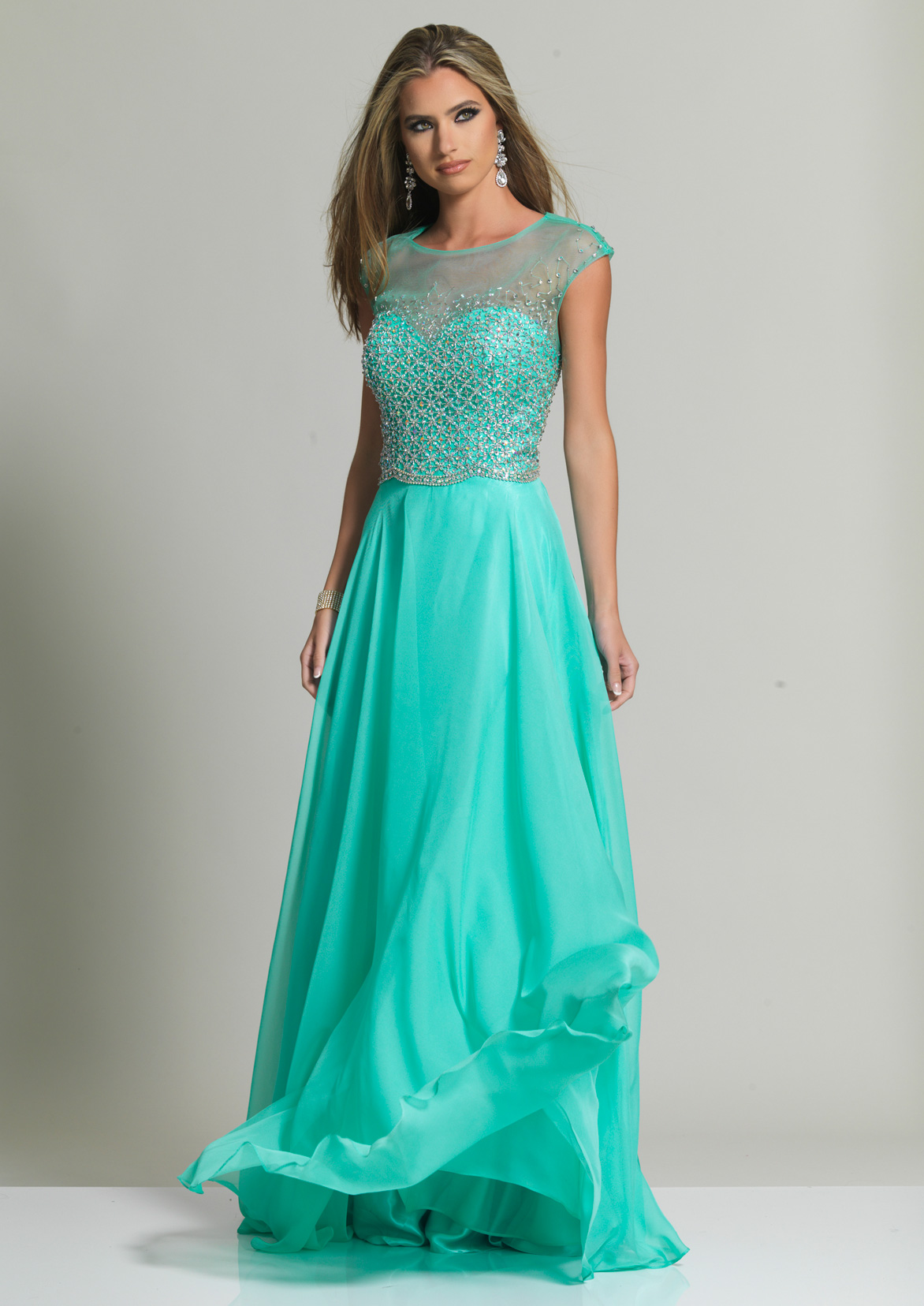 Dave and Johnny Prom Dress 2248
