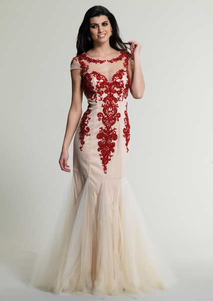 Dave and Johnny Prom Dress 226