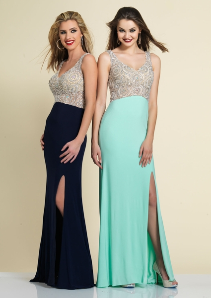 Dave and Johnny Prom Dress 2338