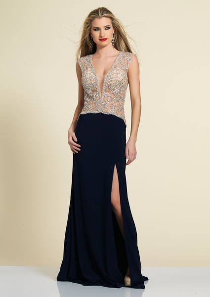 Dave and Johnny Prom Dress 2362