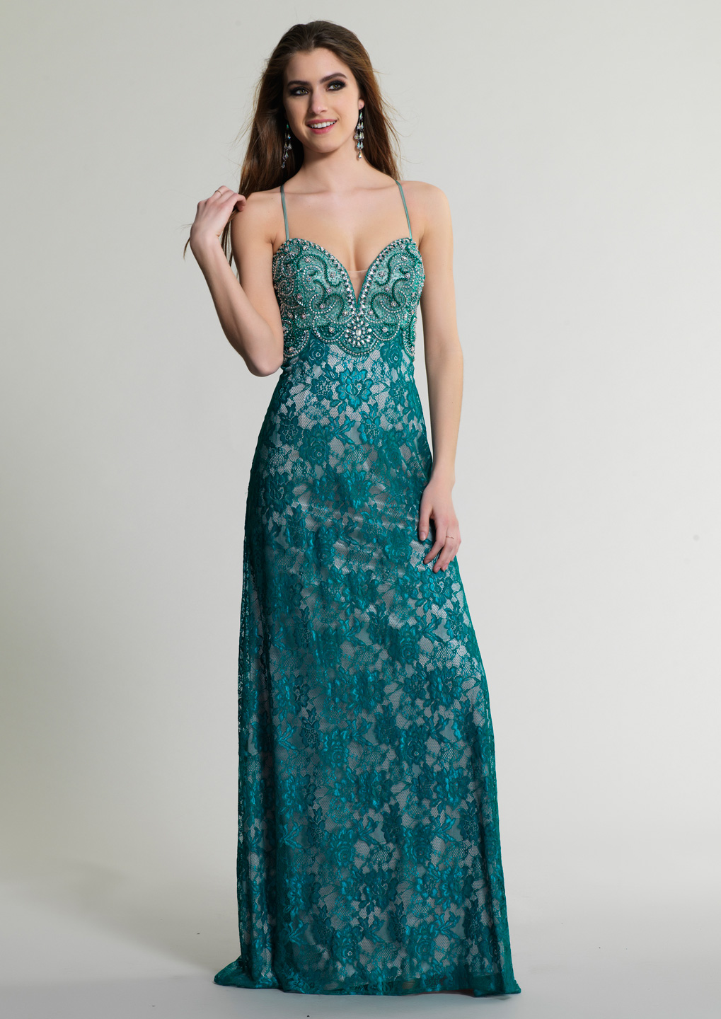 Dave and Johnny Prom Dress 237