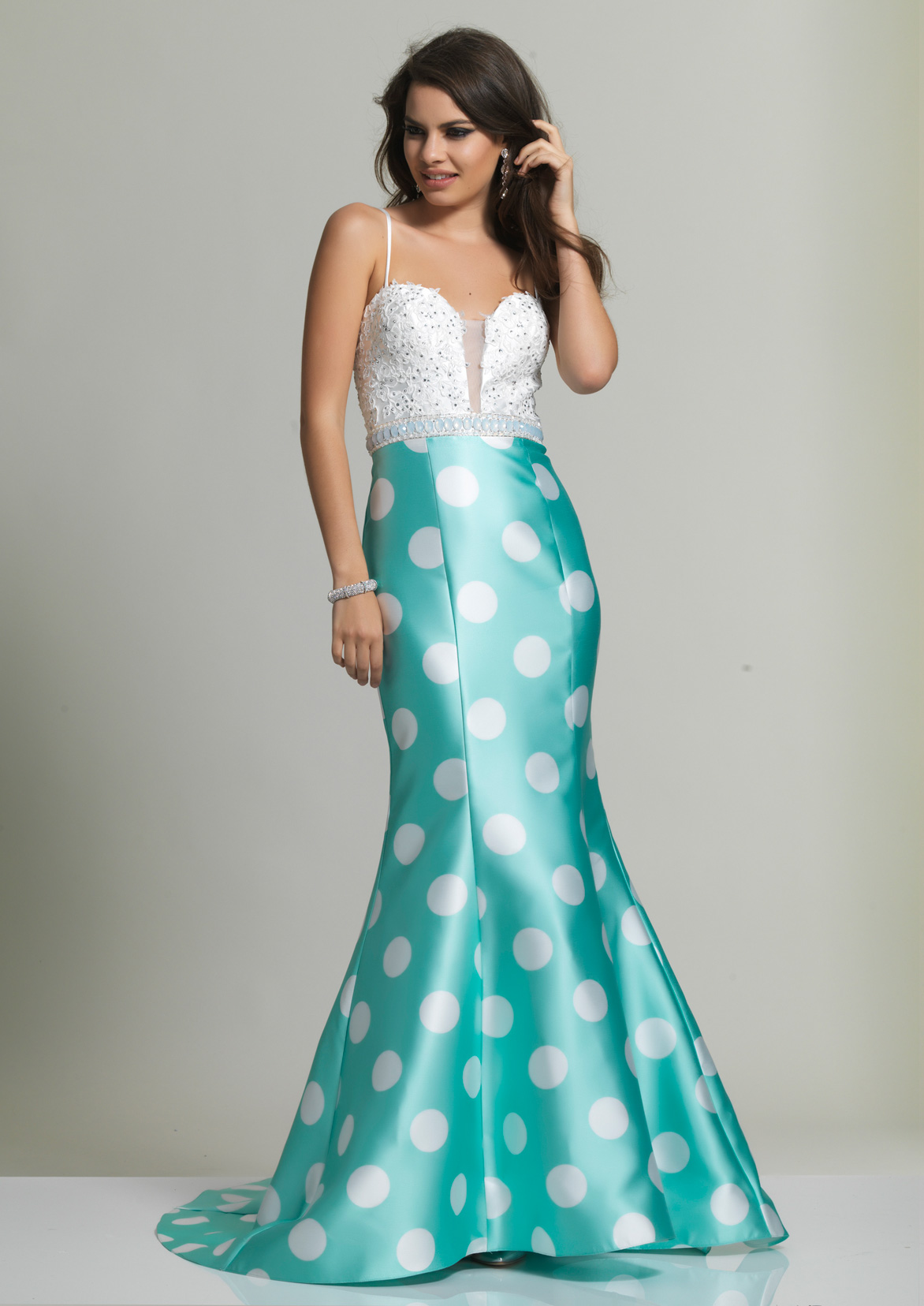 Dave and Johnny Prom Dress 2390M