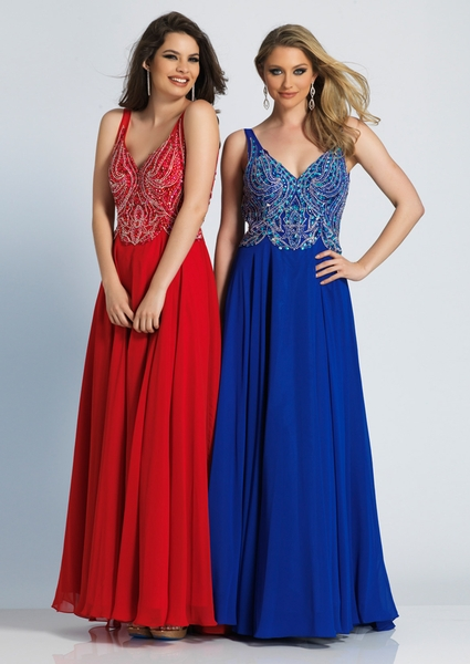 Dave and Johnny Prom Dress 2501