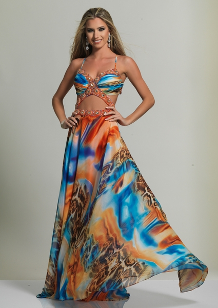 Dave and Johnny Prom Dress 2509