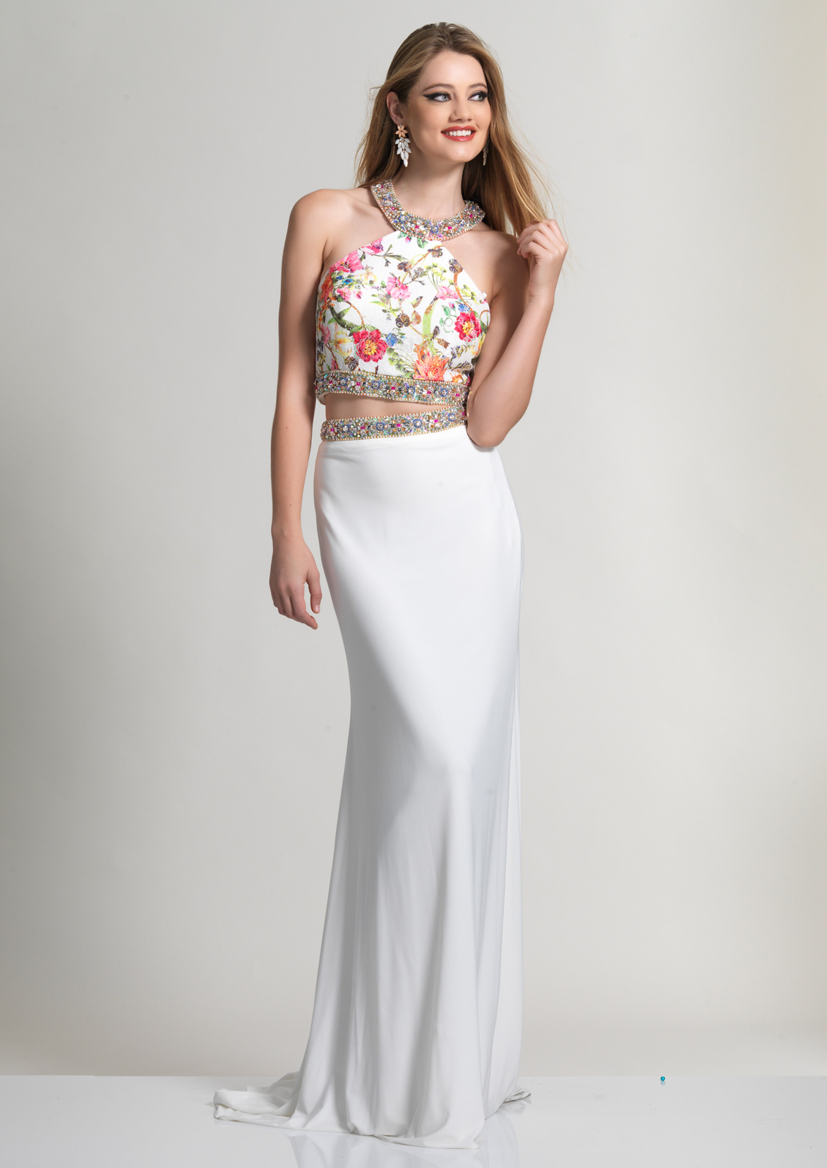 Dave and Johnny Prom Dress 2511