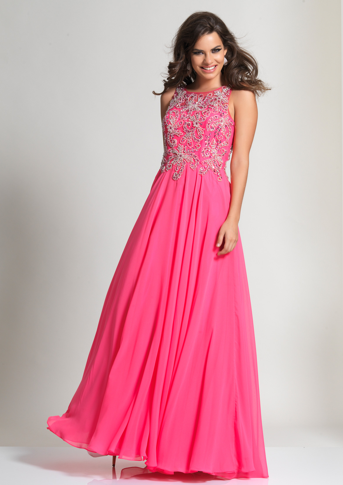 Dave and Johnny Prom Dress 2667