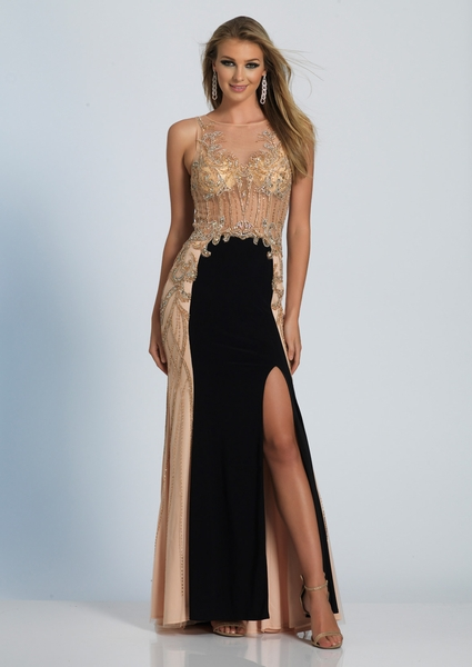 Dave and Johnny Prom Dress 2673