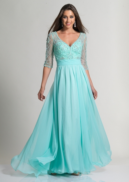 Dave and Johnny Prom Dress 2702M