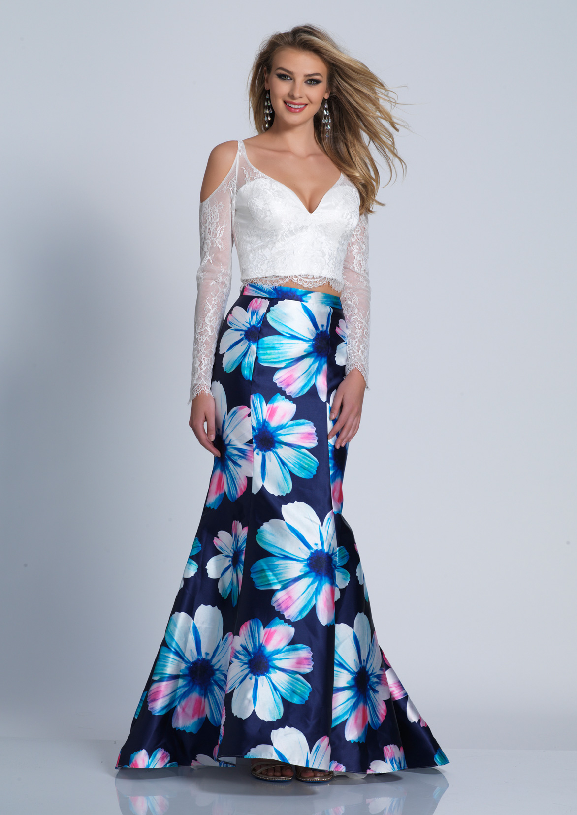 Colorful Dave And Johnny Prom Dresses Festooning - All Wedding ...