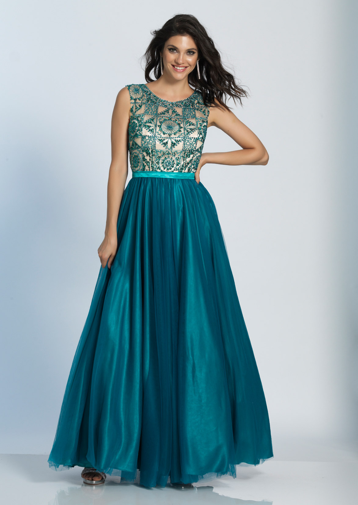 Dave and Johnny Prom Dress 5275