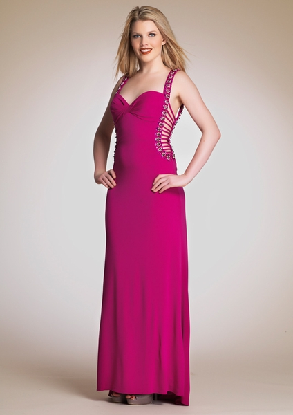 Dave and Johnny Prom Dress 5840