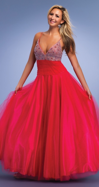 Dave and Johnny Prom Dress 6519