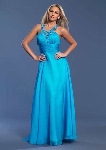 Dave and Johnny Prom Dress 7068