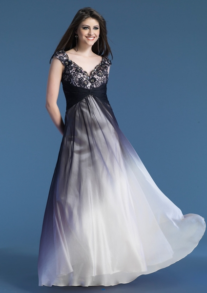 Dave and Johnny Prom Dress 7250